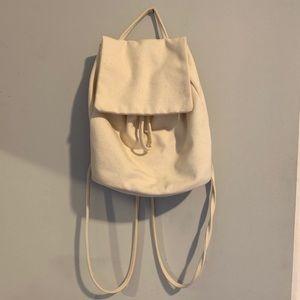 Baggu Mini Backpack in Cream